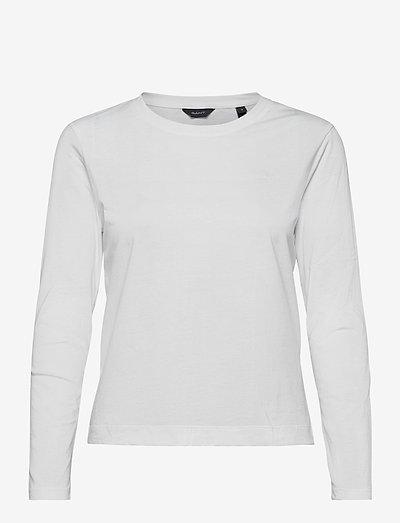 ORIGINAL LS T-SHIRT - long-sleeved tops - white