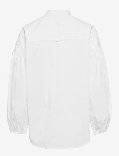 Gant D1. Tp Voluminous Shirt- Bluzki & Koszule White