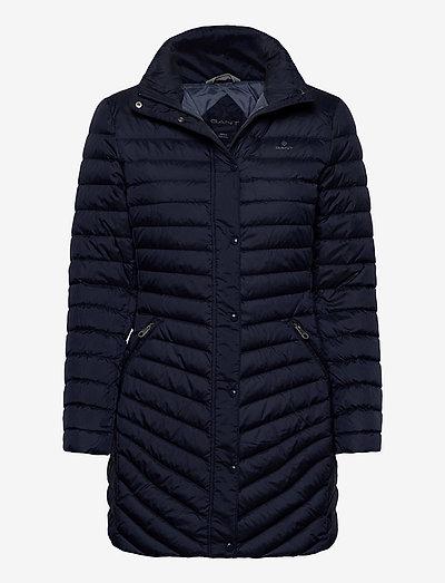D1. LIGHT DOWN COAT - manteaux d'hiver - evening blue