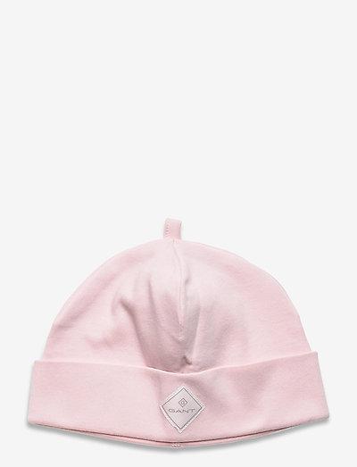 LOCK-UP ORGANIC COTTON BEANIE - hatte og handsker - crystal pink