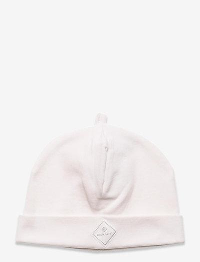 LOCK-UP ORGANIC COTTON BEANIE - hatte og handsker - eggshell