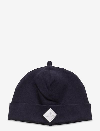 LOCK-UP ORGANIC COTTON BEANIE - hatte og handsker - evening blue