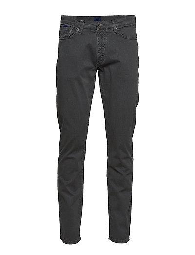 Slim Desert Jeans Slim Jeans Schwarz GANT