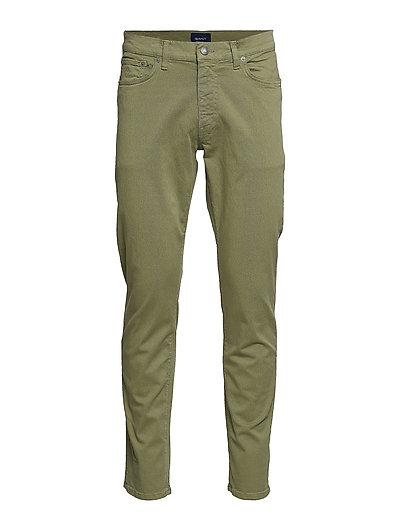 Slim Desert Jeans Slim Jeans Grün GANT