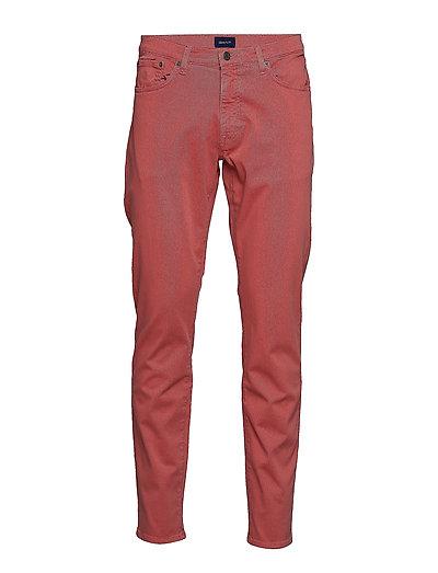 Slim Desert Jeans Slim Jeans Rot GANT