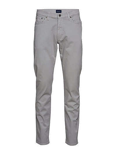 Slim Desert Jeans Slim Jeans Grau GANT