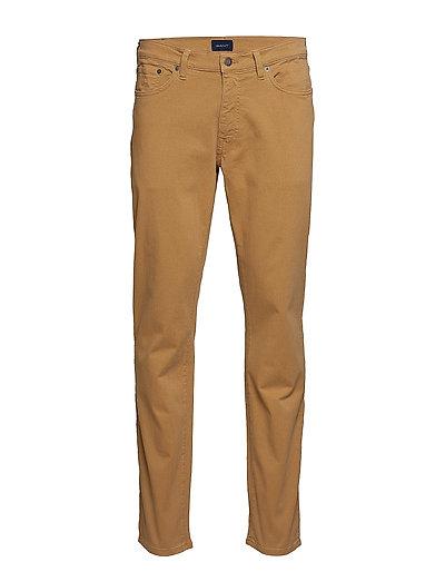 Slim Desert Jeans Slim Jeans Braun GANT