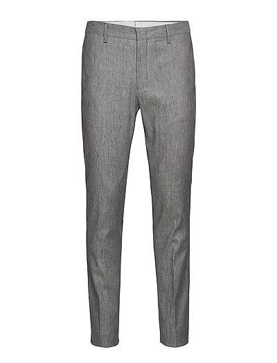 G2. The Stretch Linen Suit Pant Anzughosen Businesshosen Grau GANT