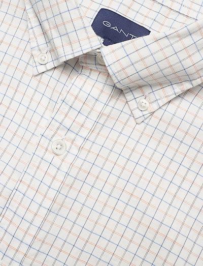 Gant D1. Herringbone Tattersall Reg Bd- Hemden