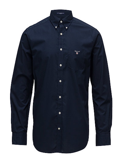 Reg Broadcloth Bd Hemd Business Blau GANT | GANT SALE