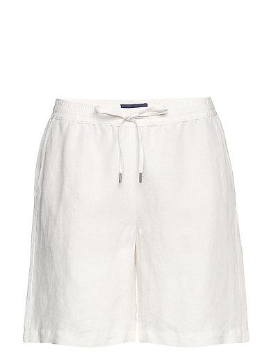 D2. Summer Linen Short Shorts Flowy Shorts/Casual Shorts Weiß GANT