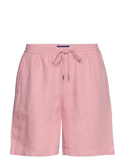 D2. Summer Linen Short Shorts Flowy Shorts/Casual Shorts Pink GANT