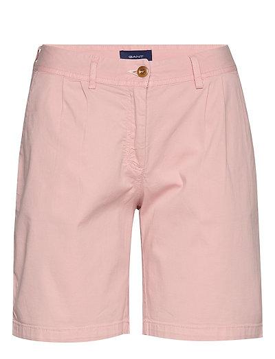 D2. Sunfaded Modern Chino Shorts Shorts Chino Shorts Pink GANT