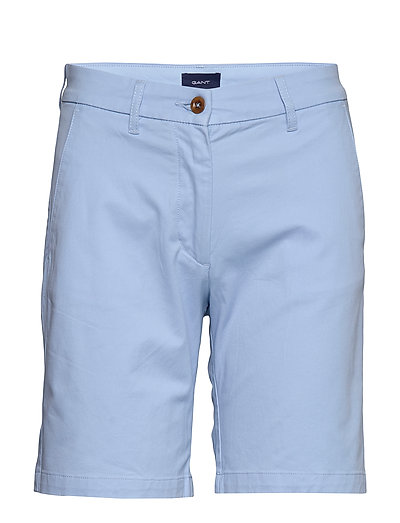 D1. Classic Chino Shorts Shorts Chino Shorts Blau GANT