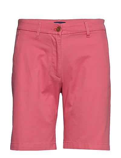 D1. Classic Chino Shorts Shorts Chino Shorts Pink GANT