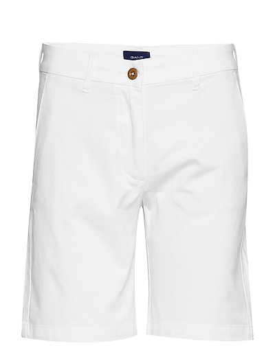 D1. Classic Chino Shorts Shorts Chino Shorts Weiß GANT