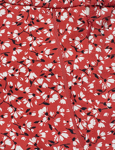 Gant D2. French Floral Fluid Shorts- Szorty Iron Red