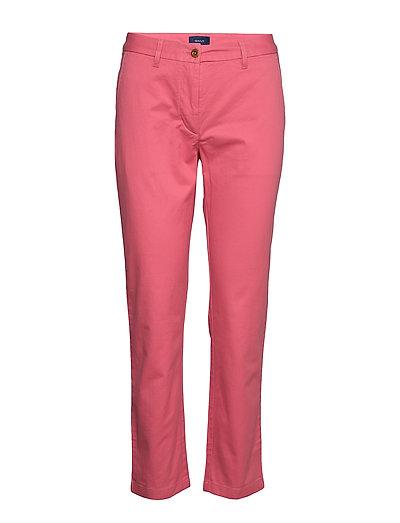 Classic Chino Hose Mit Geraden Beinen Pink GANT