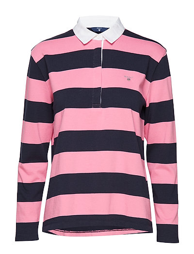 O1. HEAVY RUGGER LS STRIPED - PINK EMBRACE
