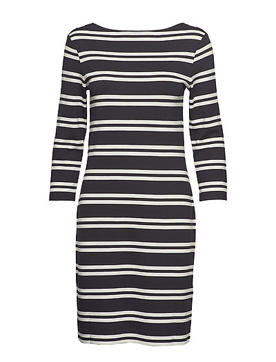 D1. Striped Dress Kleid Knielang Bunt/gemustert GANT