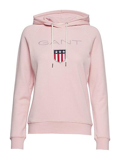 Gant Shield Sweat Hoodie Hoodie Pullover Pink GANT