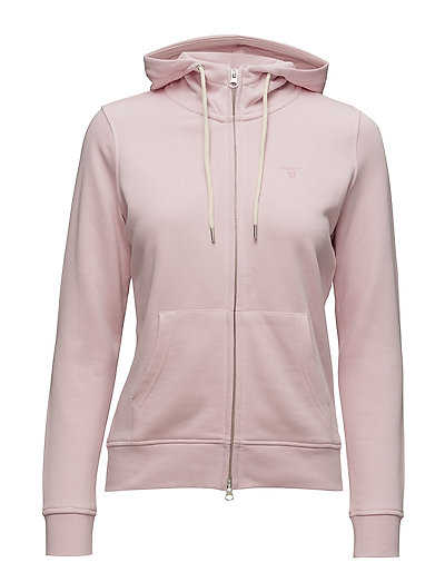 TONAL SHIELD FULL ZIP HOODIE - CALIFORNIA PINK