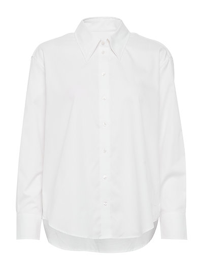 D2. Over D Collar Relaxed Shirt Langärmliges Hemd Weiß GANT