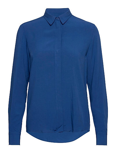 D1. Light Weight Shirt Langärmliges Hemd Blau GANT | GANT SALE