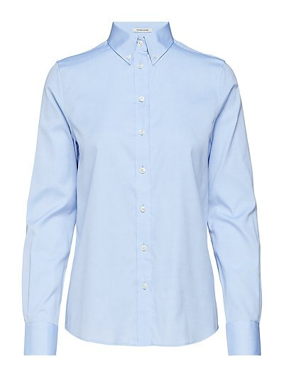 PIN POINT OXFORD BD SHIRT - CAPRI BLUE