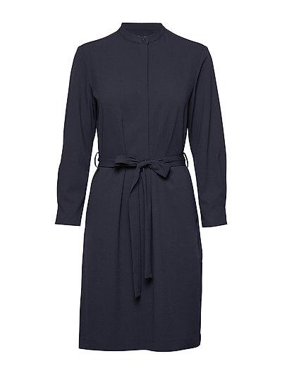 D2. Utility Shirt Dress Kleid Knielang Blau GANT