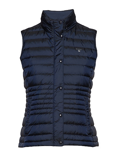 O1. LIGHT DOWN VEST - EVENING BLUE