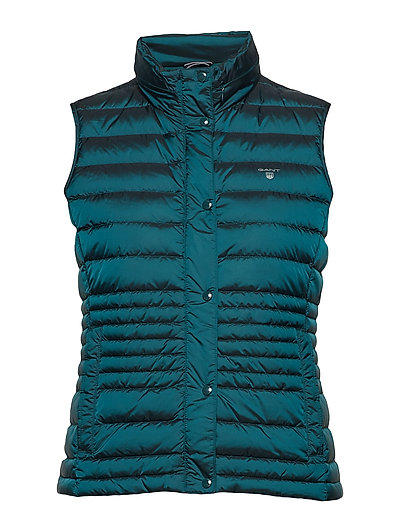 O1. LIGHT DOWN VEST - PONDEROSA PINE