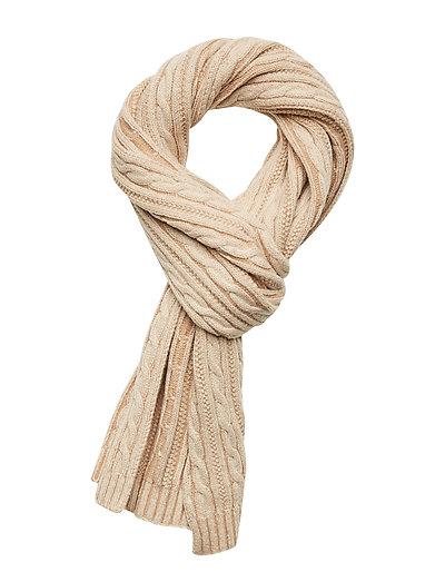 D2. Winter Faded Knit Scarf Schal Beige GANT