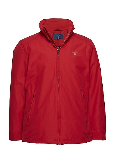 O1. THE MIDLENGTH JACKET - RED