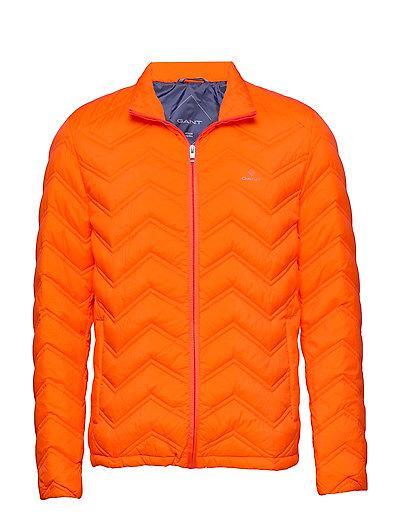 D1. The Light Down Jacket Gefütterte Jacke Orange GANT