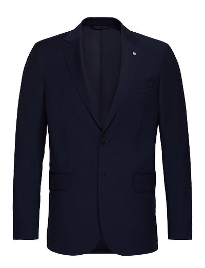 The Tailored Travelers Suit Jkt S Blazer Jackett Blau GANT