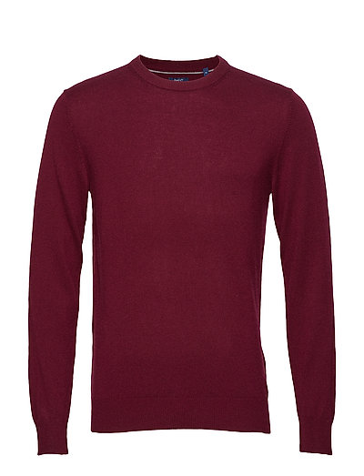 D2. WOOL CASHMERE CREW - PURPLE FIG