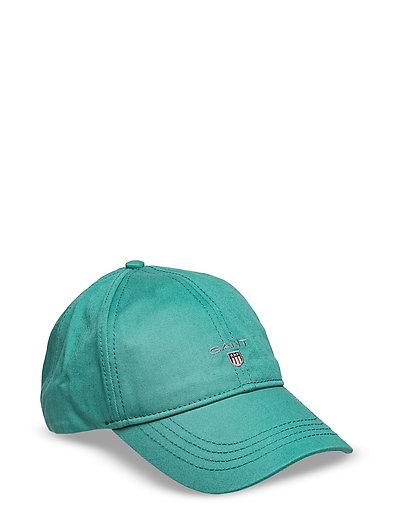GANT TWILL CAP - PORCELAIN GREEN