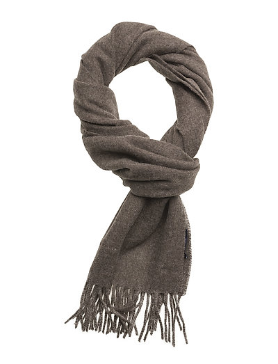 SOLID LAMBSWOOL SCARF - RAIN DRUM