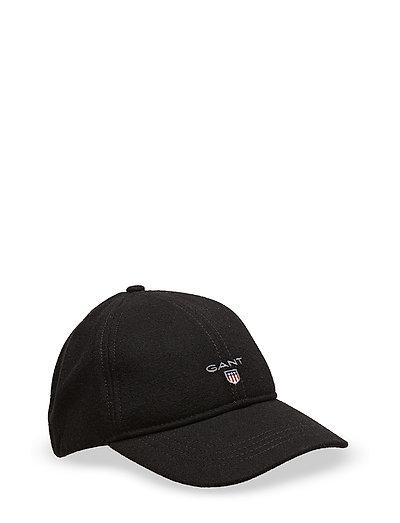 D2. GANT MELTON CAP - BLACK