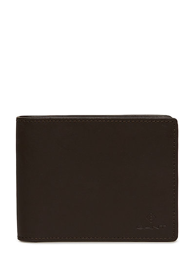 LEATHER WALLET - BLACK COFFEE