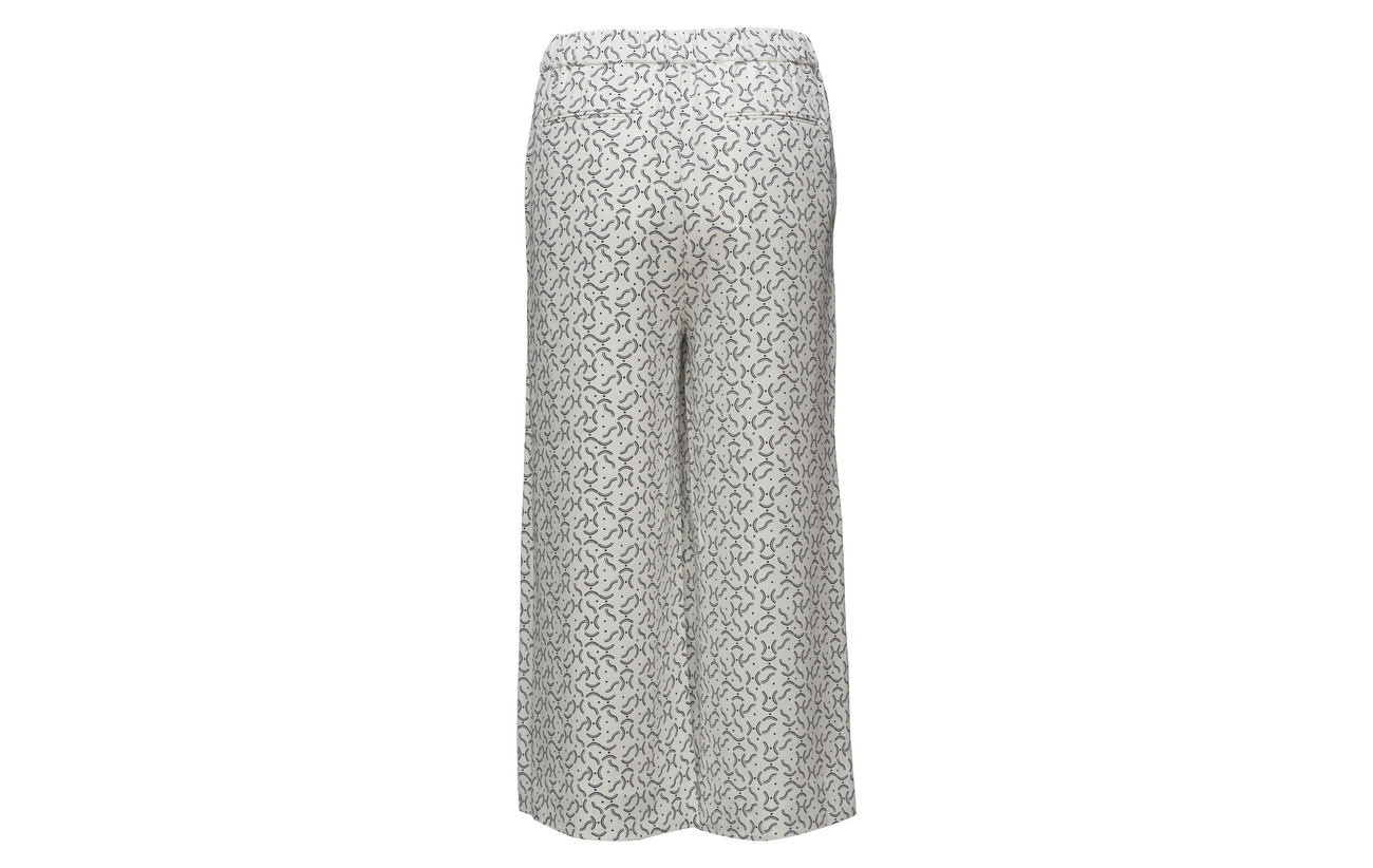 Printed Gant Polyester Pants G1 100 Eggshell RAqf1U8