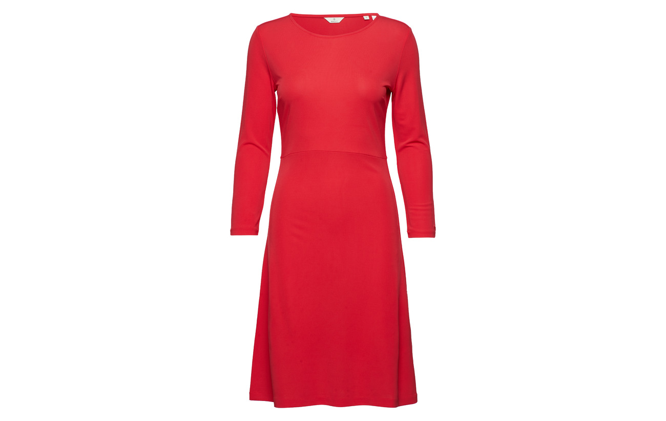 G1 Gant Sophisticated Viscose 100 Dress Bright Red PH6xTHwqA