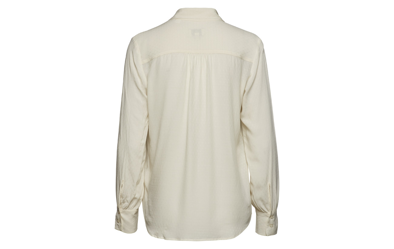 Blouse Viscose 100 Gant Cream Bow G3 Dobby qY6wXvt