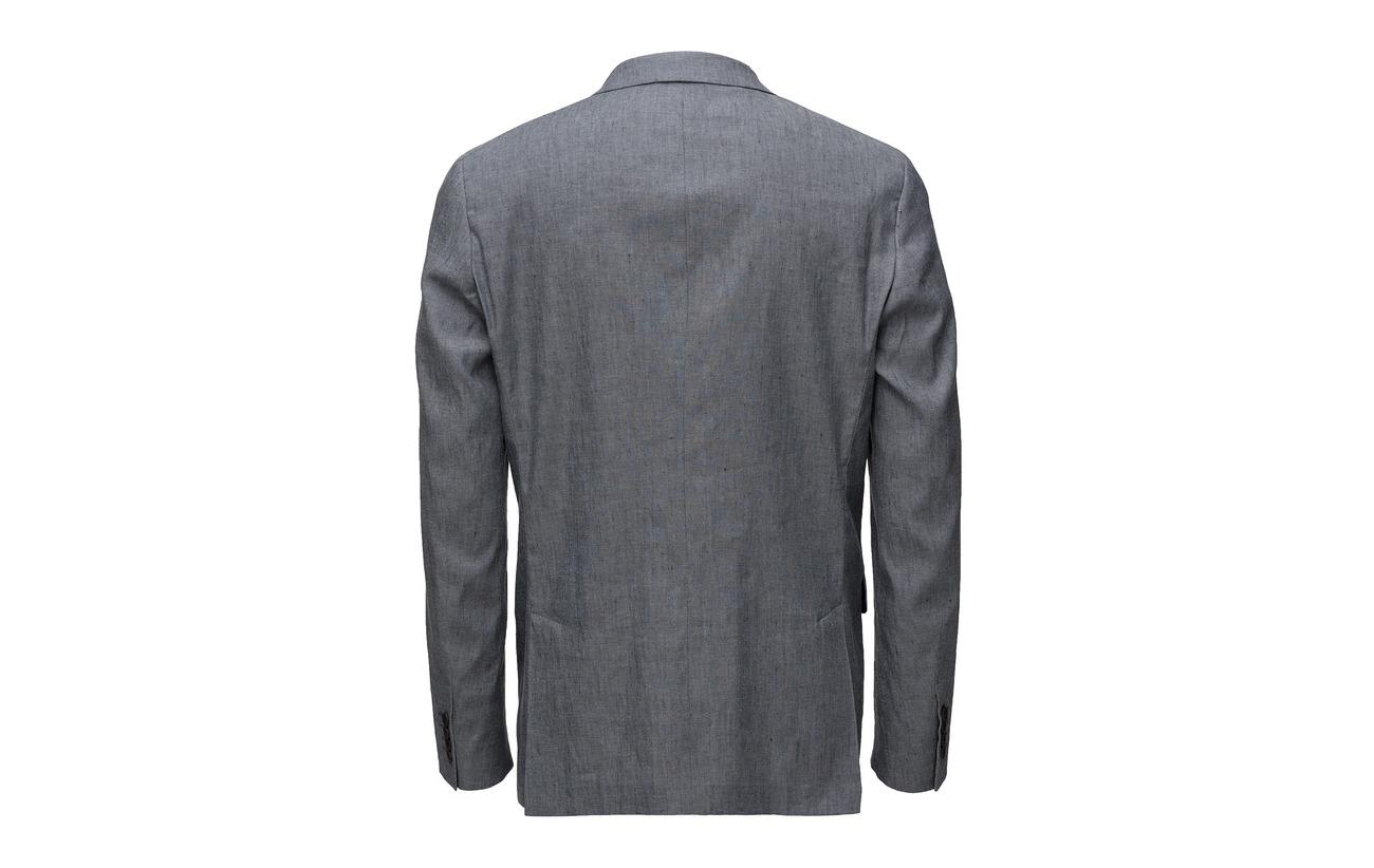 Stretch Linen Melange G1 Blazer Gant Grey S O5EqAxxwH