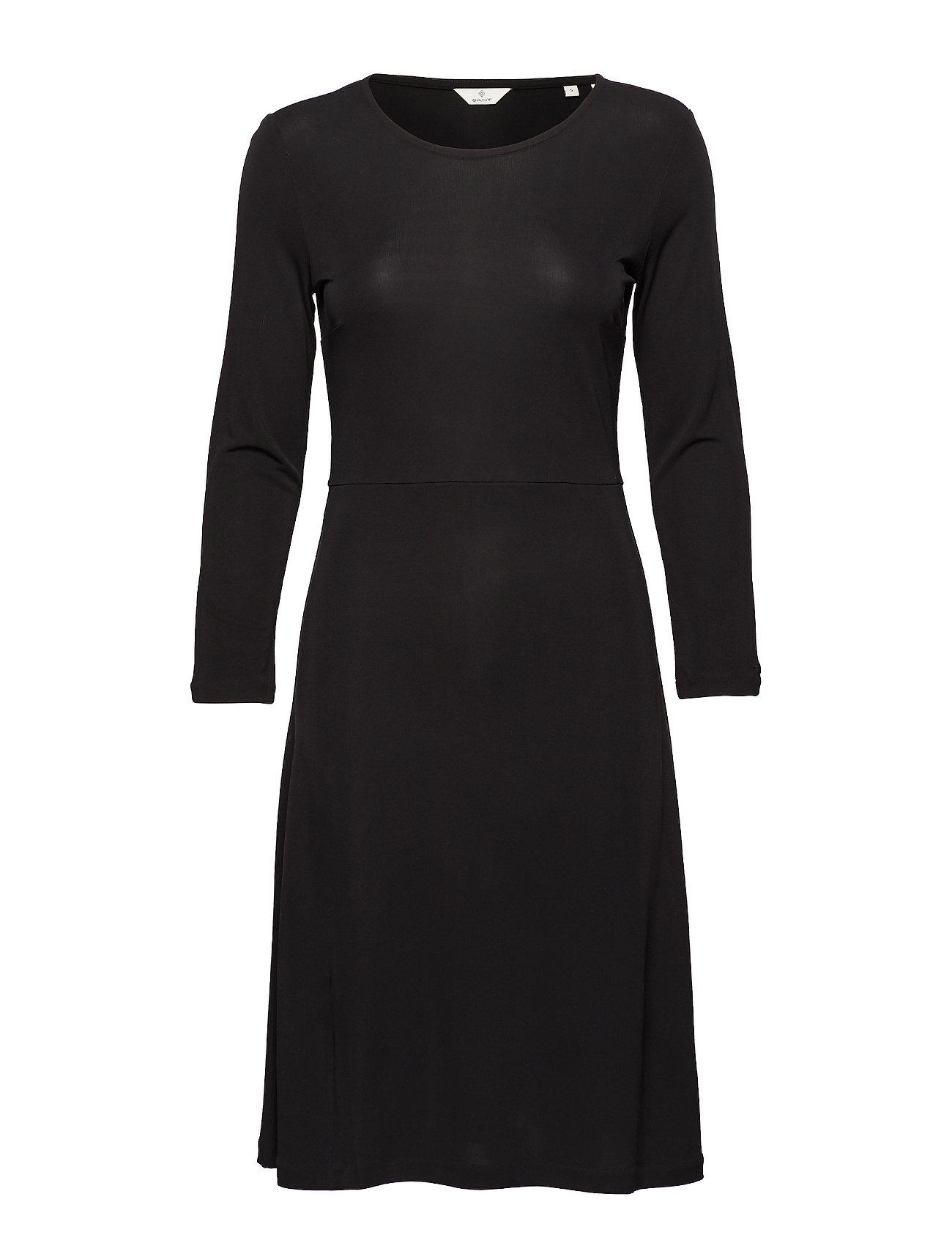 GANT G1. SOPHISTICATED DRESS - BLACK