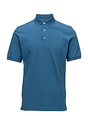 G1. POLO PIQUE - DEEP WATER BLUE