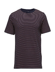 G. STRIPED TEE - MARINE