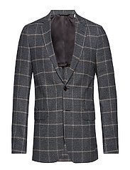 G2. THE WINDOWPANE SPORTS COAT - GREY MELANGE
