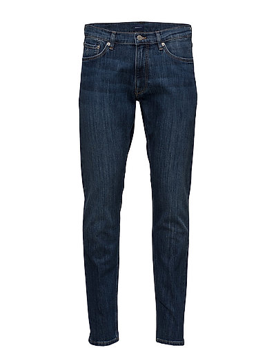G1. TP TAPERED JEANS - MID BLUE WORN IN